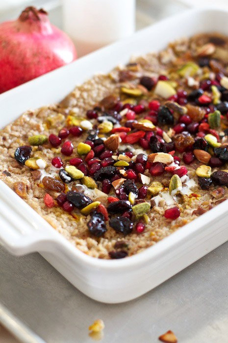 ... Pear Baked Oatmeal With Dried Fruit and Nuts - Fort Langley Colonics